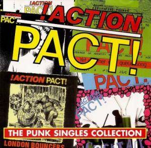 Cover - !Action Pact!: Punk Singles Collection, The