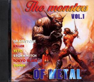 Monsters Of Metal Vol. 1, The - Cover