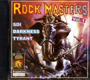 Rock Masters Vol. 1 - Cover
