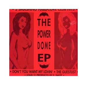 Cover - DJ Gizmo: Power Dome EP, The