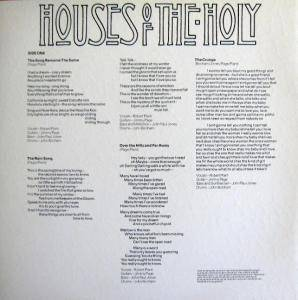Led Zeppelin: Houses Of The Holy (LP) - Bild 5