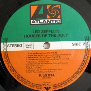 Led Zeppelin: Houses Of The Holy (LP) - Bild 8