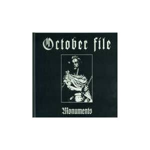 Cover - October File: Monuments