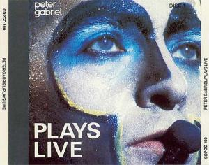 Peter Gabriel: Plays Live - Cover