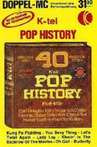 K-tel Pop History 1968-1976 TEIL 2 - Cover