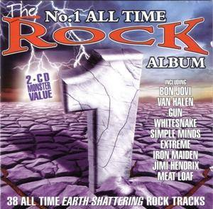 No.1 All Time Rock Album, The - Cover
