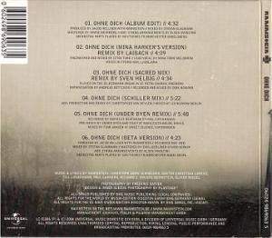 Rammstein: Ohne Dich (Single-CD) - Bild 3
