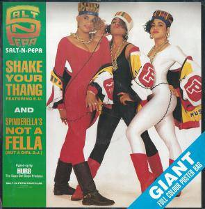 Salt'N'Pepa: Shake Your Thang - Cover