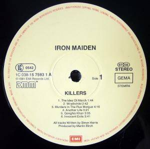 Iron Maiden: Killers (LP) - Bild 2
