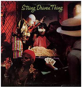 String Driven Thing: String Driven Thing - Cover