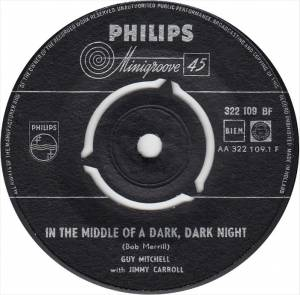 Cover - Guy Mitchell: In The Middle Of A Dark Dark Knight