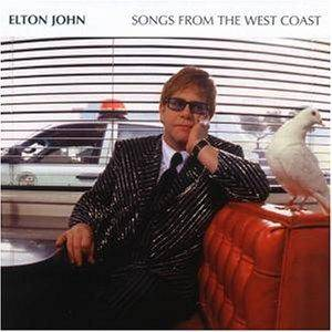 Elton John: Songs From The West Coast - Cover