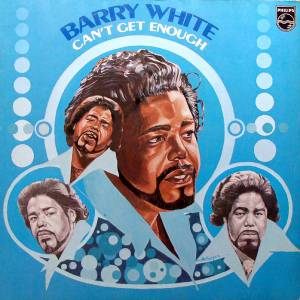 Barry White: Can't Get Enough - Cover