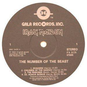 Iron Maiden: The Number Of The Beast (LP) - Bild 3