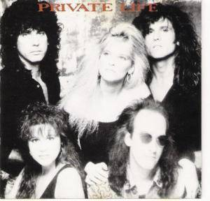 Private Life: Shadows - Cover