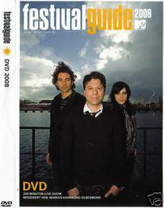 Cover - Operator Please: Festival Guide DVD 2008