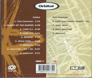 Orbital: Orbital 2 (Brown Album) (2-CD) - Bild 2