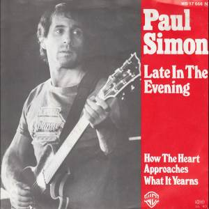 Paul Simon: Late In The Evening - Cover