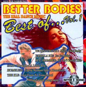 Cover - Homeless: Better Bodies Best Of... Vol. 1