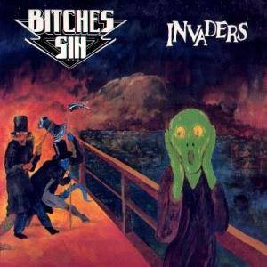Cover - Bitches Sin: Invaders