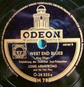 Cover - Louis Armstrong & His Hot Five: West End Blues