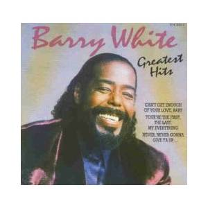 Barry White: Greatest Hits - Cover