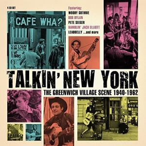 Talkin' New York: The Greenwich Village Scene 1940-1962 - Cover