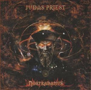 Judas Priest: Nostradamus - Cover