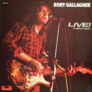 Rory Gallagher: Live! In Europe - Cover