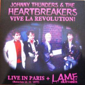 Cover - Johnny Thunders And The Heartbreakers: Vive La Revolution!