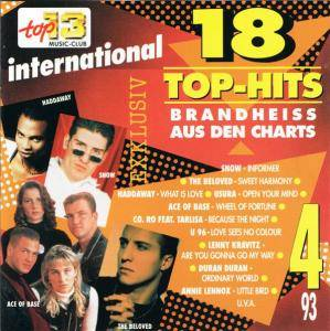 Various - 18 Top Hits aus den Charts 3/93