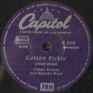 Cover - Jimmy Bryant And Speedy West: Cotton Pickin'