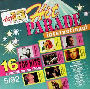 Cover - Techno Cop: Hit Parade International - 5/92