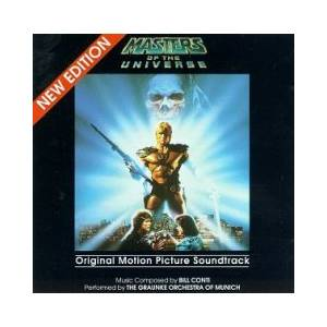 Bill Conti: Masters Of The Universe - Cover