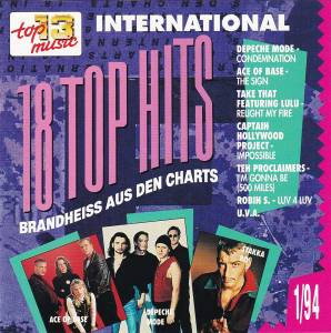 Cover - Take That Feat. Lulu: Club Top 13 - 18 Top Hits Aus Den Charts - 1/94