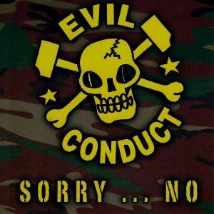 Cover - Evil Conduct: Sorry...No!