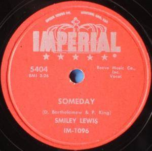 Cover - Smiley Lewis: Someday