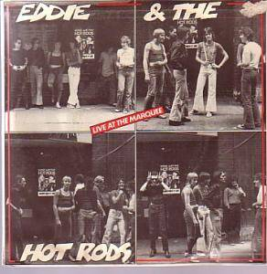 Cover - Eddie & The Hot Rods: Live At The Marquee