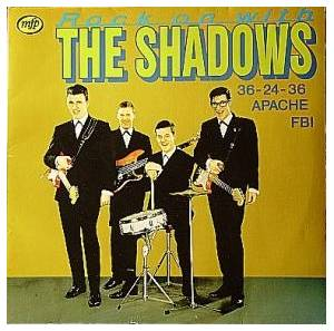 Cover - Shadows, The: Rock On With The Shadows