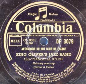 Cover - King Oliver: New Orleans Stomp / Chattanooga Stomp