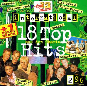 Cover - DJ Quicksilver: 18 Top Hits Aus Den Charts - 2/96