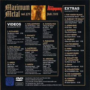 Metal Hammer - Maximum Metal Vol. 129 (DVD) - Bild 2
