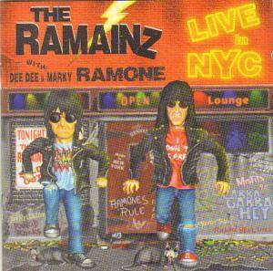 The Ramainz: Live In N.Y.C. - Cover