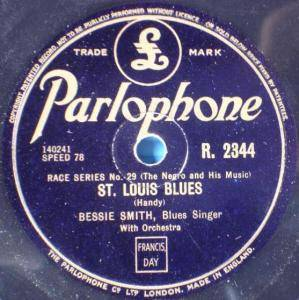 Cover - Bessie Smith: St. Louis Blues