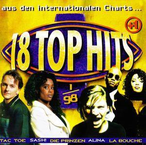 Cover - Dario G.: 18 Top Hits Aus Den Charts - 1/98