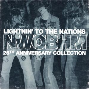 Lightnin' To The Nations NWOBHM 25th Anniversary Collection - Cover