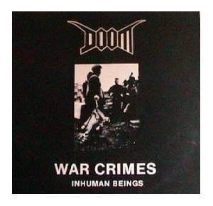 Cover - Doom: War Crimes - Inhuman Beings