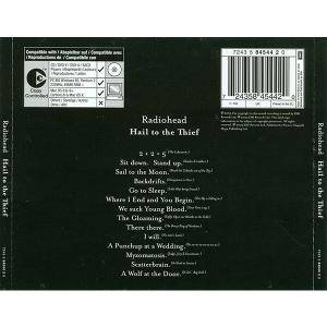 Radiohead: Hail To The Thief (CD) - Bild 2