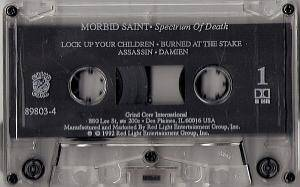 Morbid Saint: Spectrum Of Death (Tape) - Bild 4