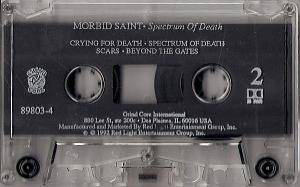 Morbid Saint: Spectrum Of Death (Tape) - Bild 5